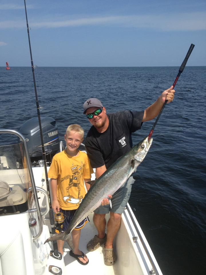 Hot Spots Report for Pensacola Fishing Charters September 2013