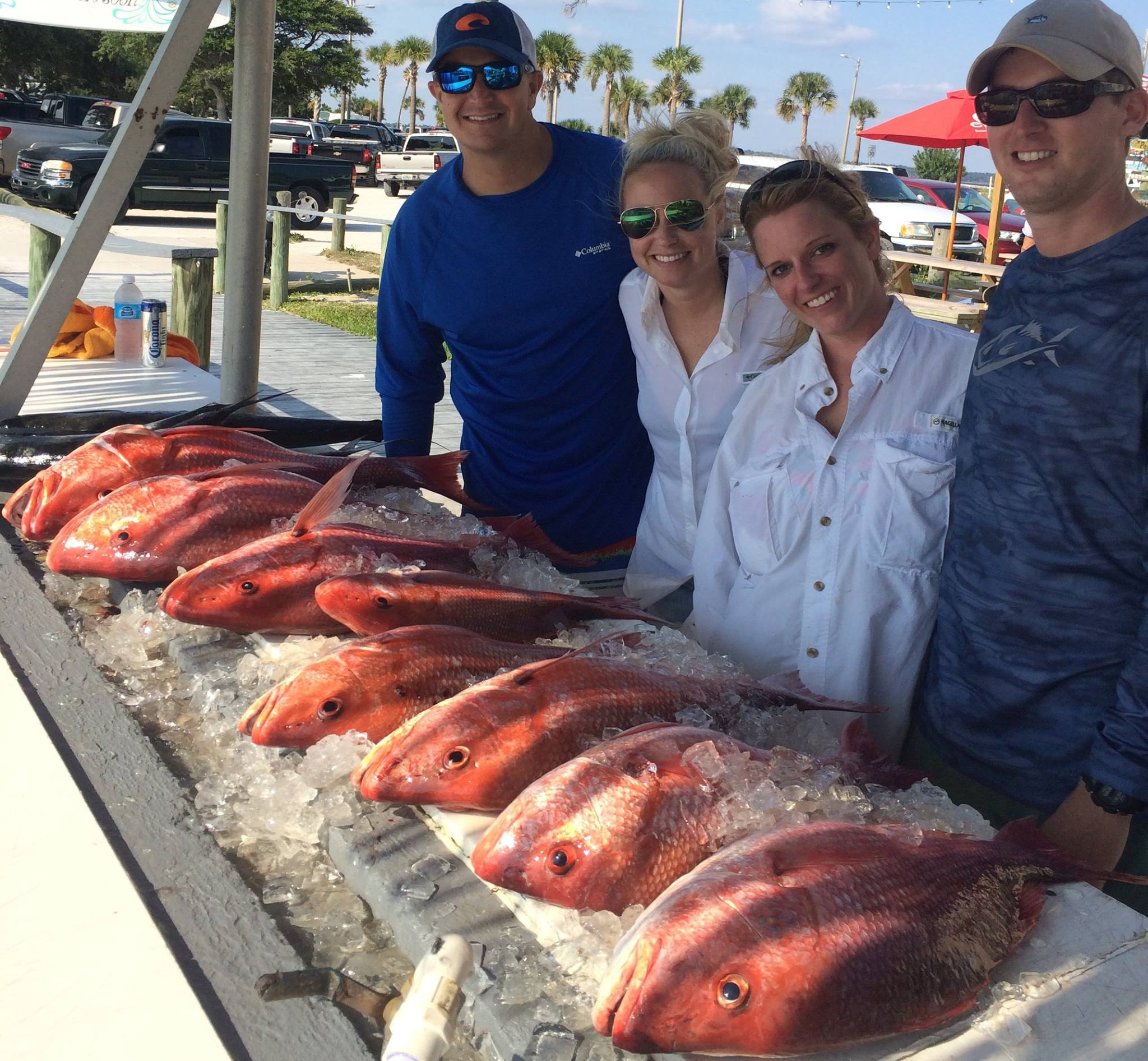 Hot Spots Report for Pensacola Fishing Charters October 2015