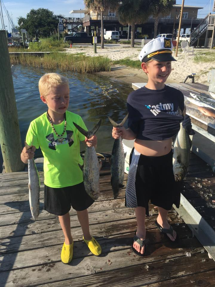 Hot Spots Report for Pensacola Fishing Charters September 2016