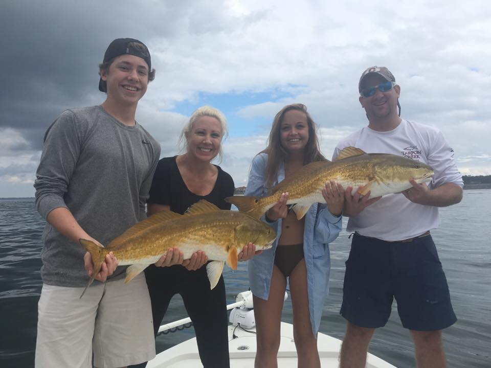 Hot Spots Report for Pensacola Fishing Charters November 2016