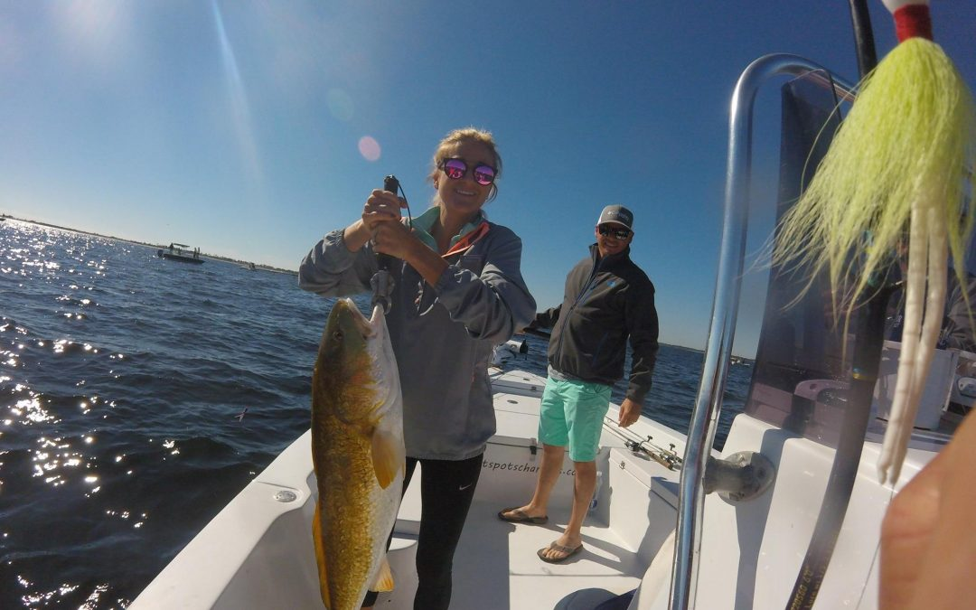 Hot Spots Report for Pensacola Fishing Charters November 2017